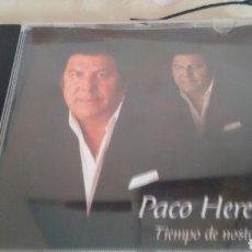 CDs de Música: CD PACO HEREDIA TIEMPO DE NOSTALGIA. Lote 121999382