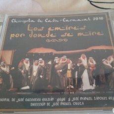 CDs de Música: CHIRIGO DE CÁDIZ CARNAVAL 2010. Lote 122000042