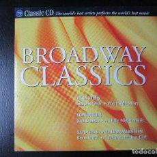 CDs de Música: BROADWAY CLASSICS - CALDARA, BRUCKNER, RESPIGHI, FEENEY, BERLIOZ, KNUSSEN, SONDHEIM, RODGERS. CD. Lote 122004811