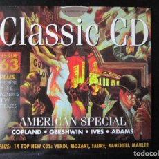 CDs de Música: AMERICAN SPECIAL - CHADWICK, IVES, COPLAND, ADAMS, THOMSON, BARTOK, WHITE, COUPERIN, KANCHELI, CD. Lote 122009035