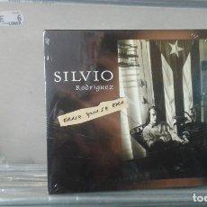 CDs de Música: SILVIO RODRIGUEZ - ERASE QUE SE ERA - DOBLE CD PRECINTADO. Lote 135654867