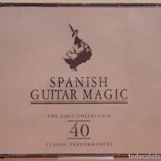 CDs de Música: DOBLE CD SPANISH GUITAR MAGIC. Lote 122010195