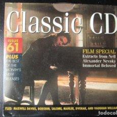 CDs de Música: FILM SPECIAL - ALEXANDER NEVSKY - NELL - AMOR INMORTAL - CD. Lote 122010307