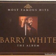 CDs de Música: DOBLE CD, BARRY WHITE.. Lote 122010531