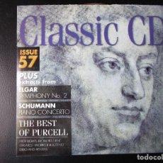 CDs de Música: ELGAR (SYMPHONY Nº 2) SHUMANN (PIANO CONCERTO) THE BEST OF PURCELL - CD. Lote 122011555