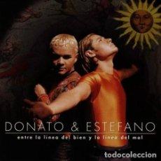 CDs de Música: DONATO & ESTEFANO - ENTRE LA LINEA DEL BIEN Y LA LINEA DEL MAL - CD. Lote 122012599