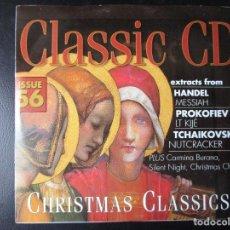 CDs de Música: HANDEL (MESSIAH) PROKOFIEV (EL TENIENTE KIJÉ) TCHAIKOVSKY (CASCANUECES) CD. Lote 122012615