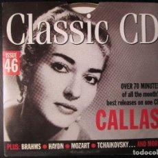 CDs de Música: CALLAS CANTA MACBETH - HANDEL, BRAHMS, HAYDN, MOZART, HAYDN, GRIEG, CD . Lote 122014743