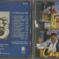 CDs de Música: CANDEAL CD DE RONDAS Y PICARDIAS 1995 EN PERFECTO ESTADO. Lote 122016539