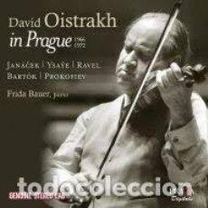 CDs de Música: VARIOS COMPOSITORES - DAVID OISTRAKH IN PRAGUE (1966-1972) (CD). Lote 122017275