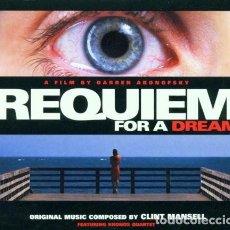CDs de Música: CLINT MANSELL / KRONOS QUARTET - REQUIEM FOR A DREAM - CD . Lote 122017463