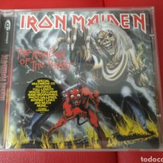 CDs de Música: IRON MAIDEN THE NUMBER OF THE BEAST. Lote 122017530