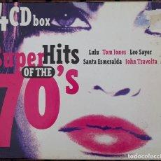 CDs de Música: CUATRO CD'S, SUPER HITS OF THE 70'S. Lote 122017855