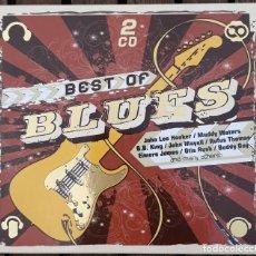 CDs de Música: DOBLE CD, BEST OF BLUES. Lote 122018011