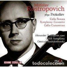 CDs de Música: PROKOFIEV - SONATA PARA CELLO Y PIANO, SYMPHONY-CONCERTO (CD) MSTISLAV ROSTROPOVICH. Lote 122018143