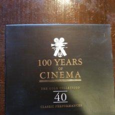 CDs de Música: VARIOS. 100 YEARS OF CINEMA. DOBLE CD. PHONOCOMP ITALIA. 1995. Lote 122055854