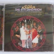 CDs de Música: THE 5TH DIMENSION - THE AGE OF AQUARIUS + BONUS TRACK 1969/2000 USA CD. Lote 122072979