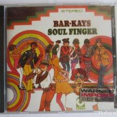 CDs de Música: BAR-KAYS - SOUL FINGER 1967 GERMANY CD * DIGITALLY REMASTERED. Lote 122088607