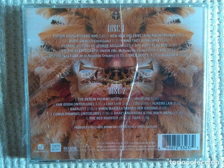 CDs de Música: CHRISTIAN SCOTT - CHRISTIAN ATUNDE ADJUAH 2 CD 2012 EU SEALED - Foto 2 - 122099395