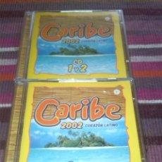 CDs de Música: CD CARIBE 2002 CORAZON LATINO 3 CDS + DVD VER FOTOS. Lote 122105627