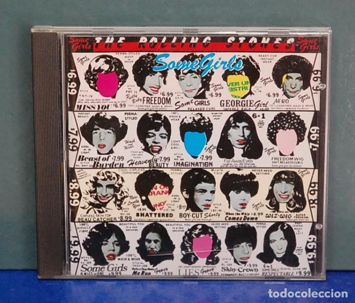 The rolling stones  Some girls  Virgin, edición holandesa, ref  LC 3098  CD