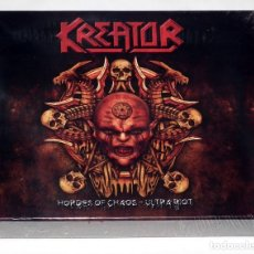 CDs de Música: KREATOR - HORDES OF CHAOS CD BOX. Lote 39828088