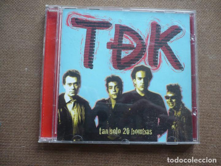 TDK TAN SOLO 20 BOMBAS CD 2003 (Música - CD's Rock)