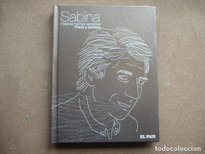 SABINA FISICA Y QUIMICA PALABRAS HECHAS CANCIONES CD LIBRO EL PAIS (Música - CD's Rock)