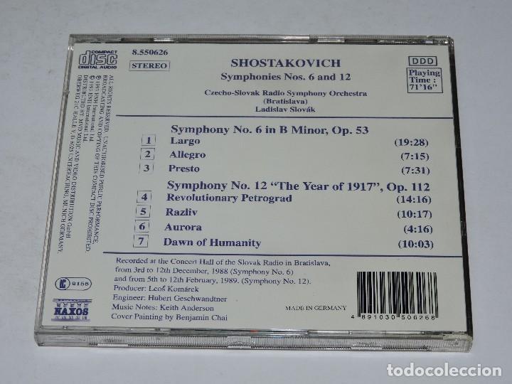 Shostakovich: symphonies nos  6 & 12 - ladislav - Sold through