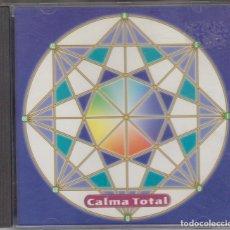 CDs de Música: HANS HANSEN CD CALMA TOTAL 1997 LA VIDA INTERIOR DEL SONIDO / TUBO TRANSFORMACIÓN. Lote 122183351