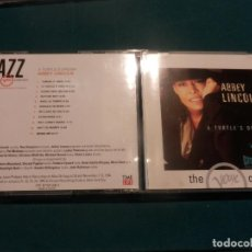 CDs de Música: ABBEY LINCOLN - A TURTLE'S DREAM - CD 11 TEMAS (JAZZ THE VERVE COLLECTION) GITANES. Lote 122190243