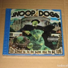 CDs de Música: (SIN ABRIR) SNOOP DOGG - DA GAME IS TO BE SOLD,NOT TO BE TOLD (EDICIÓN Q PACK - 049925000023). Lote 193714848