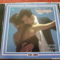 CDs de Música: PEQUEÑA COMPAÑIA CD TODOS LOS BOLEROS FONOMUSIC 1987 MUY DIFICIL SIN CODIGO DE BARRAS. Lote 122194642