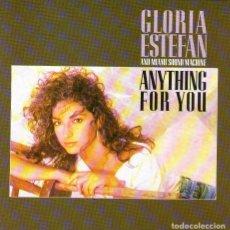 CDs de Música: GLORIA ESTEFAN - ANYTHING FOR YOU - CD ÁLBUM - 12 TRACKS - ED. CBS RECORDS - AÑO 1988.. Lote 122214295