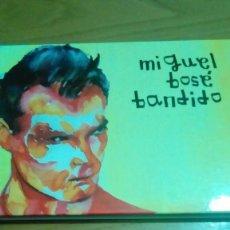 CDs de Música: MIGUEL BOSÉ, BANDIDO, LIBRO CD. Lote 122236871