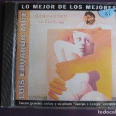 CDs de Música: LUIS EDUARDO AUTE CD BMG ARIOLA 2002 - CUERPO A CUERPO + 4 TEMAS EXTRA. Lote 122284163