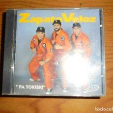 CDs de Música: ZAPATO VELOZ. PA TOKISKI. CD. HORUS, 1993. IMPECABLE (#). Lote 122284591