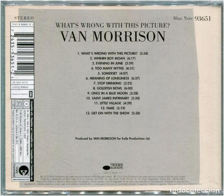 CDs de Música: Van Morrison – What's Wrong With This Picture? - CD Argentina 2003 - Blue Note 93651 - Foto 2 - 122294563