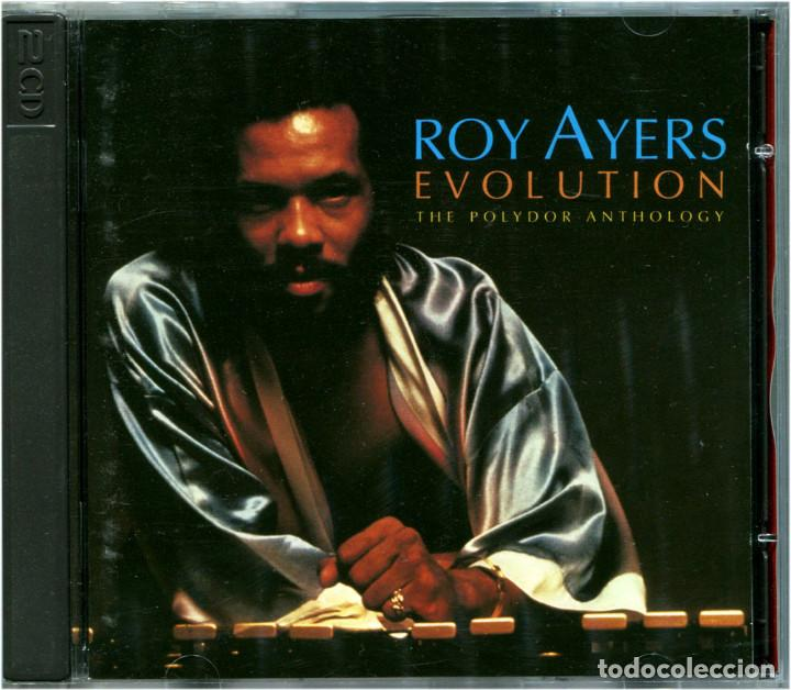 ROY AYERS – EVOLUTION: THE POLYDOR ANTHOLOGY - DOBLE CD EU 1995 - CHRONICLES 527 054-2 (Música - CD's Jazz, Blues, Soul y Gospel)