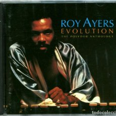 CDs de Música: ROY AYERS – EVOLUTION: THE POLYDOR ANTHOLOGY - DOBLE CD EU 1995 - CHRONICLES 527 054-2. Lote 122298455