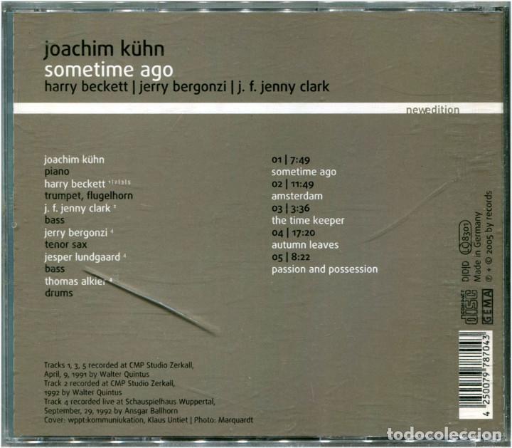 CDs de Música: Joachim Kühn – Sometime Ago - CD Germany 2005 - NewEdition 8704 - Foto 2 - 122314347
