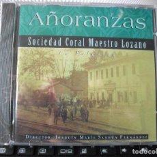 CDs de Música: AÑORANZAS SOCIEDAD CORAL MAESTRO LOZANO LA FELGUERA CD SFA ASTURIAS PRECINTADO¡¡. Lote 122355443
