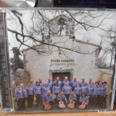 CDs de Música: CORO SAMARTINO SUEÑO CUMPLIDO PA NUESTRA GENTE CD 2011 ASTURIAS . Lote 122362031