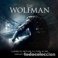 CDs de Música: EL HOMBRE LOBO (2 CDS) - THE WOLFMAN (2 CDS) MÚSICA COMPUESTA POR DANNY ELFMAN. Lote 122380283