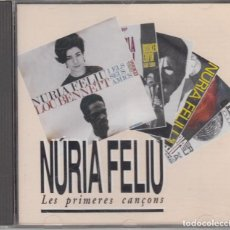 CDs de Música: NÚRIA FELIU CD LES PRIMERES CANÇONS 1992 PDI. Lote 122485779