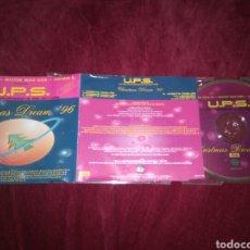 CDs de Música: U.P.S. CHRISTMAS DREAM - CD SINGLE 4 TEMAS. Lote 122530216