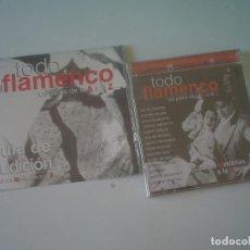 CDs de Música: DE LAS MARIANAS A LA SAETA - TODO FLAMENCO DE LA A A LA Z (PRECINTADO). Lote 122558223
