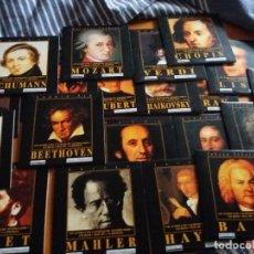 CDs de Música: COLECCIÓN COMPLETA CD. VEINTE GENIOS. 20 GENIOS DE LA MÚSICA CLÁSICA. DIARIO DE PONTEVEDRA.. Lote 122616403