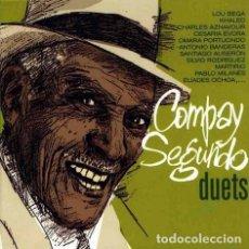 CDs de Música: COMPAY SEGUNDO - DUETS (DIGIPACK. UE, 2001). Lote 122627523