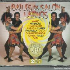 CDs de Música: ORQUESTA TROPICAL DE OLIVEIRO VALDÉS - BAILES DE SALÓN LATINOS - CD DOBLE MERCURIO 1996. Lote 122649603